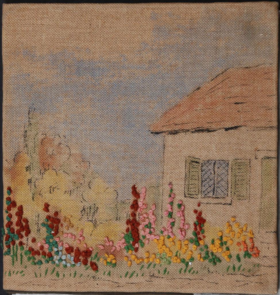 E. M. Howden's Embroidered Photograph Album