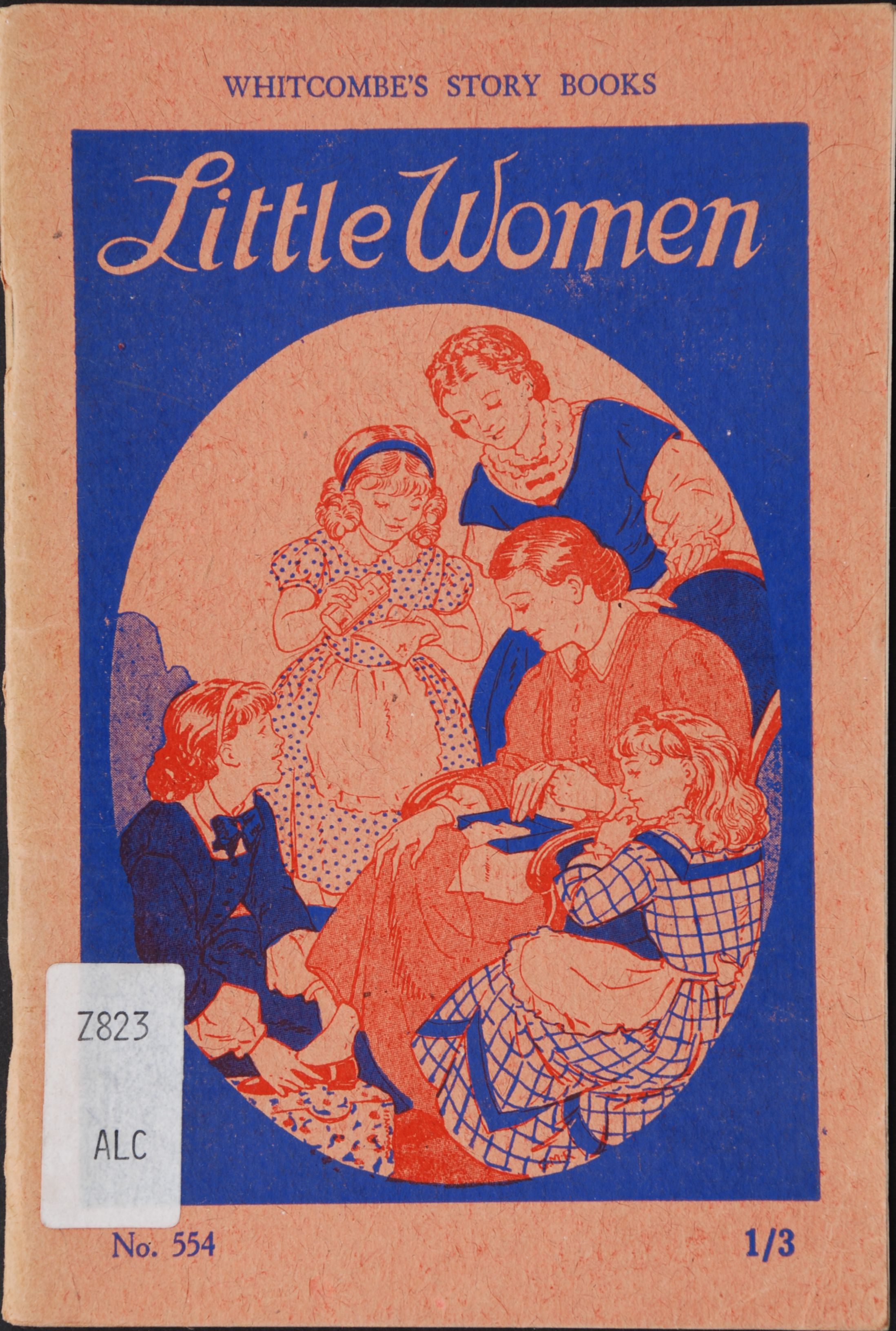 Little women; adapted from the story by Louisa M. Alcott. Christchurch, N.Z.: Whitcombe & Tombs [1948].