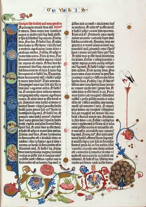 Facsimile of the Gutenberg Bible. Leipzig: Insel-Verlag, 1913. RBF Gutenberg 1454 [1913]