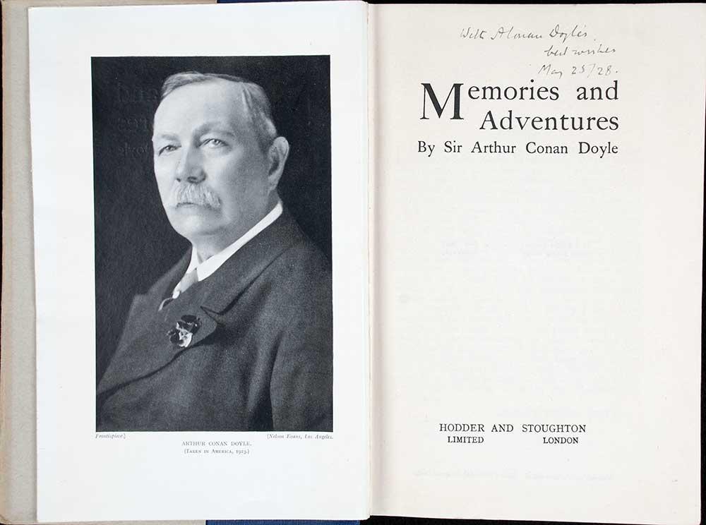 Arthur Conan Doyle. <em>Memories and adventures</em>. London: Hodder and Stoughton, 1924.