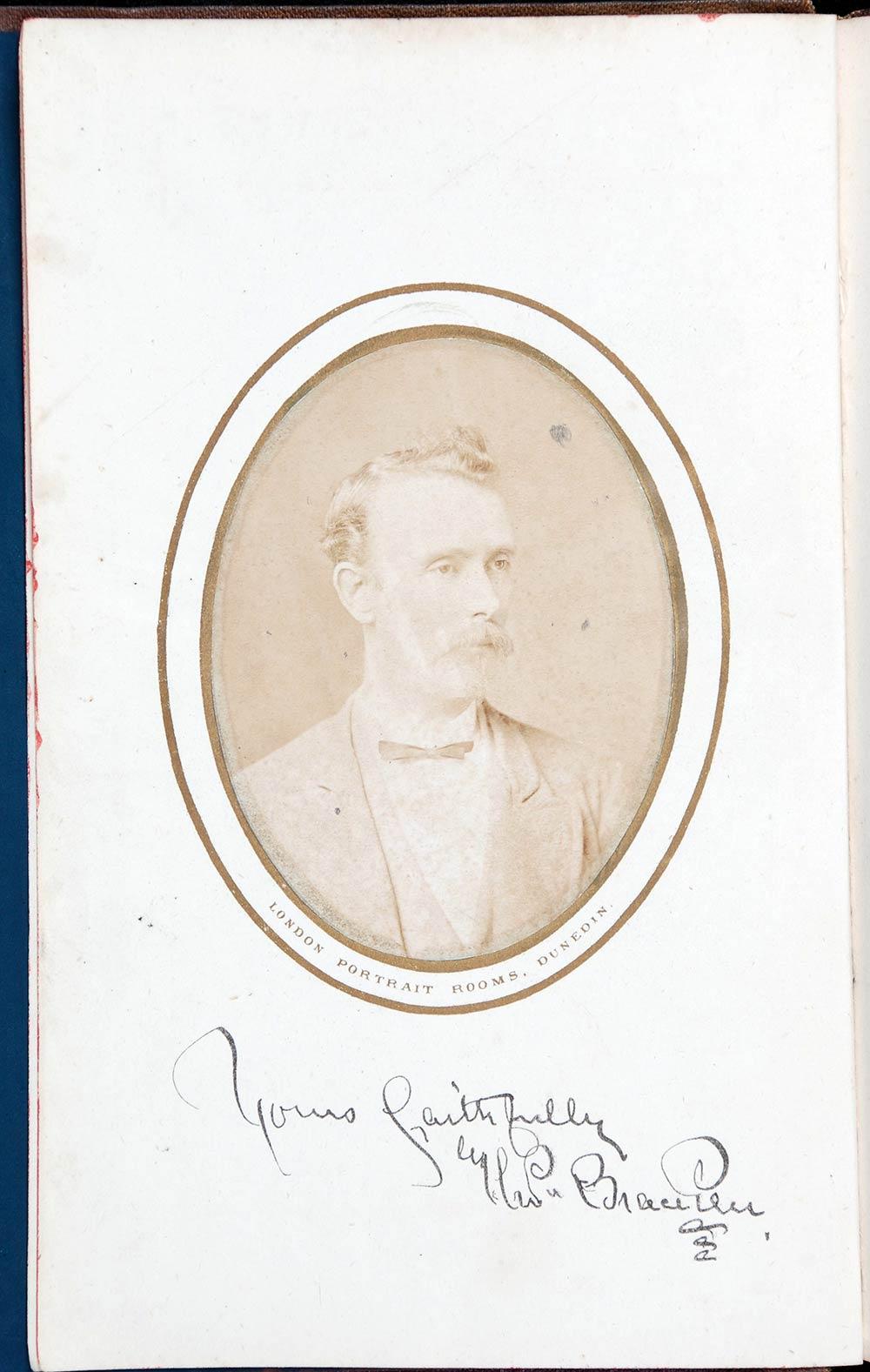 Thomas Bracken. <em>Flowers of the free lands</em>. Dunedin: Mills, Dick & Co., 1877.