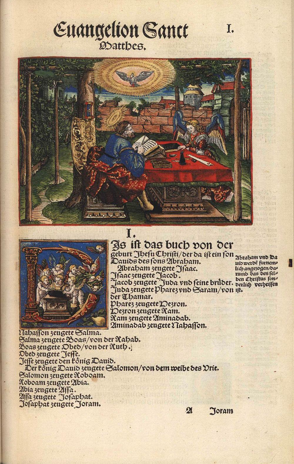 [Facsimile of 1534 Luther Bible, German]. <em>Biblia: das ist, die gantze Heilige Schrifft deudsch. Mart. Luth. Wittemberg: begnadet mit Kurfurstlicher zu Sachsen freiheit.</em> Koln; London: Taschen, 2003.