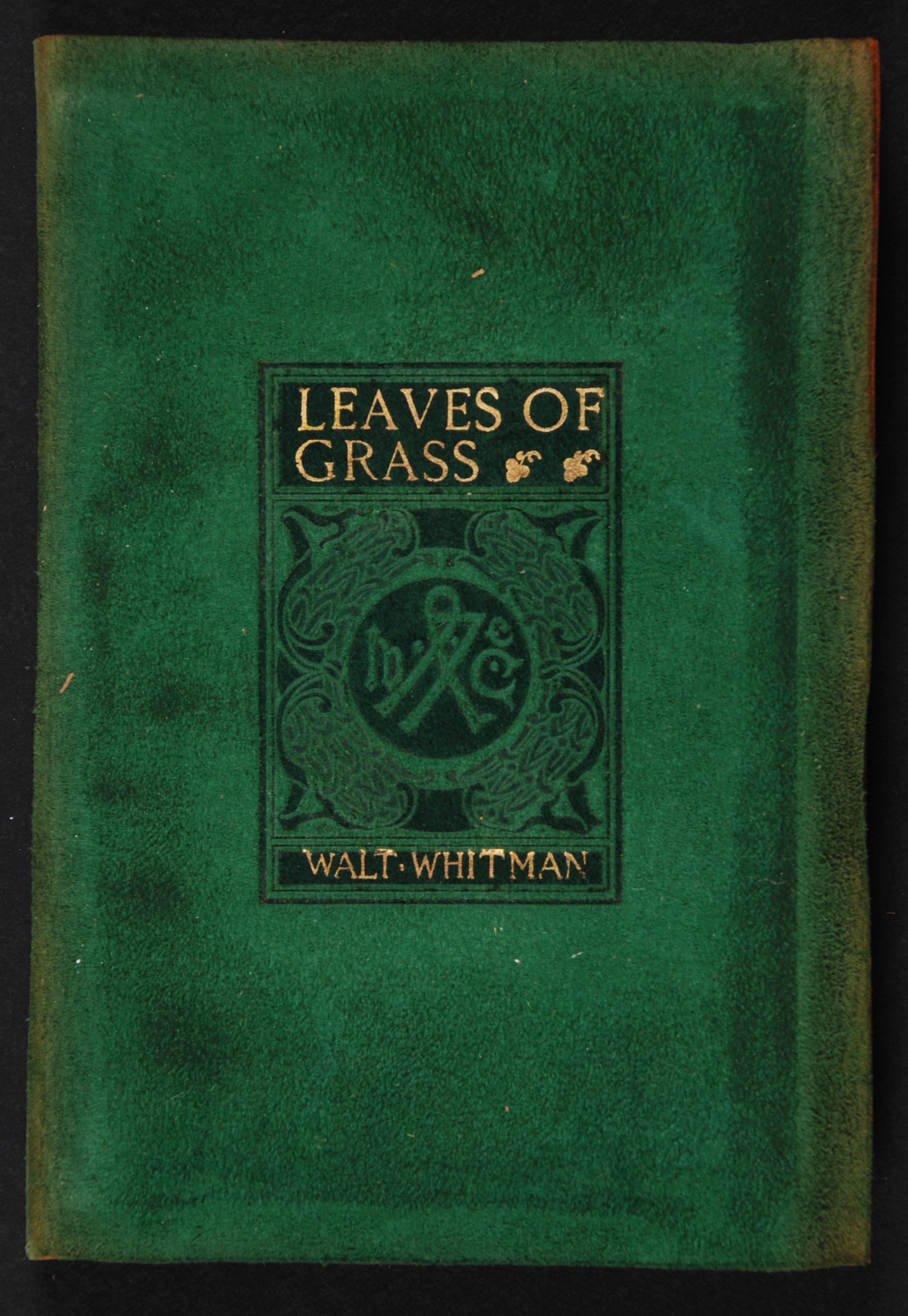 Walt Whitman. Leaves of grass. London: George G. Harrap, [1900?]