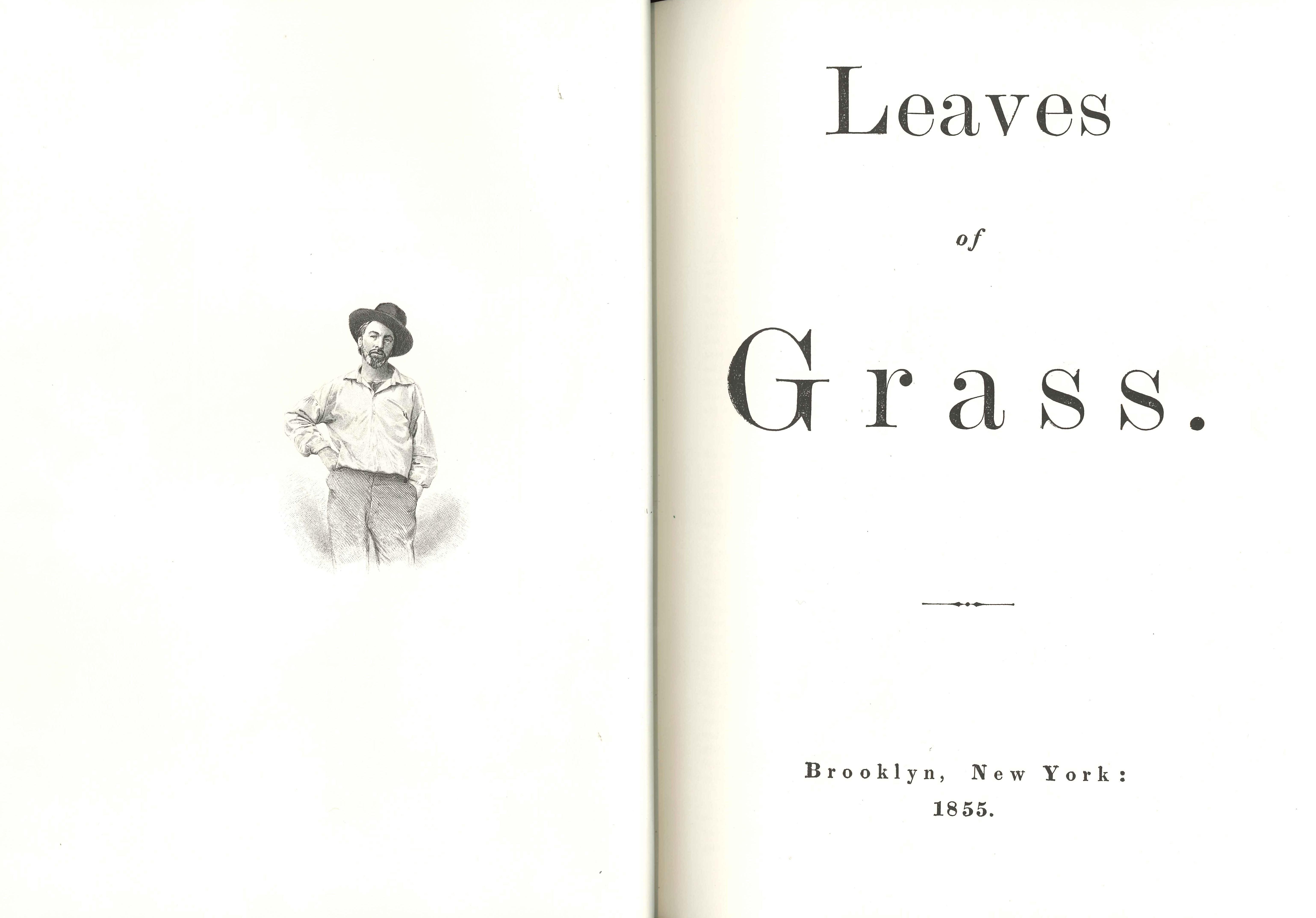 Walt Whitman. Leaves of Grass. [New York: Eakins Press, 1966]