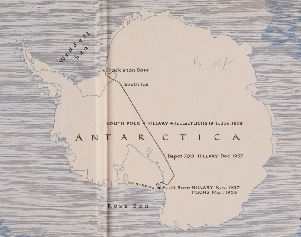 Vivian Fuchs and Edmund Hillary. <i>The Crossing of Antarctica; the Commonwealth Trans-antarctic Expedition, 1955–58</i>. London: Cassell, 1958.