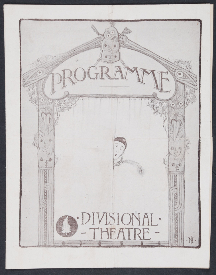 New Zealand Divisional Theatre. Programme. 19-22 July 1917
