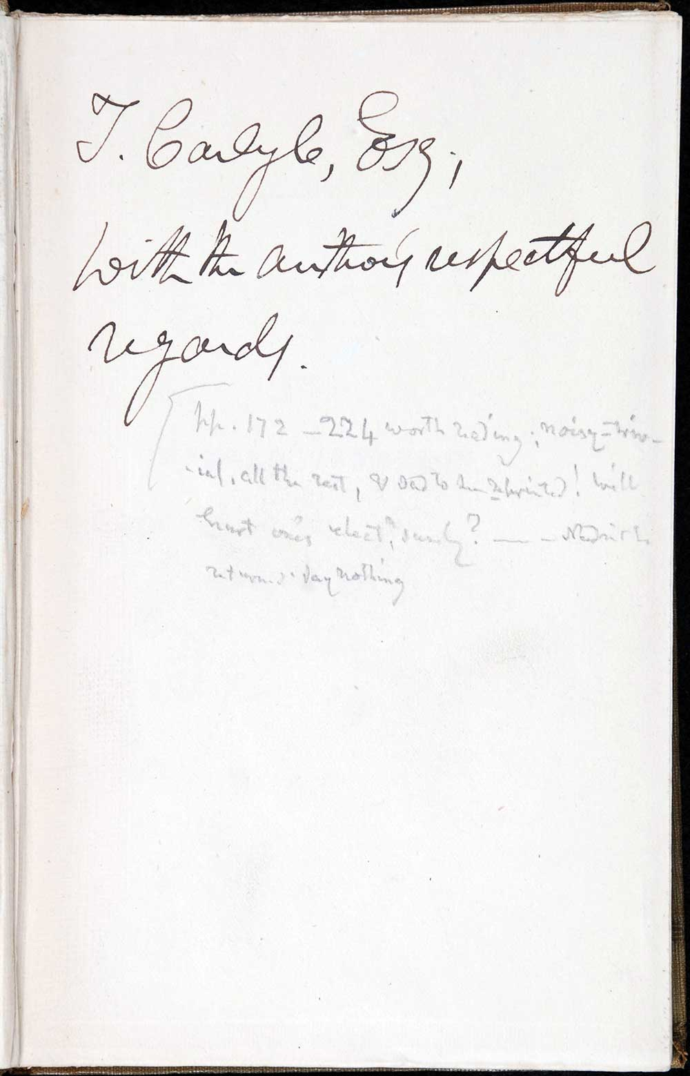 James Hutchison Stirling. <em>Jerrold, Tennyson and Macaulay: with other critical essays</em>. Edinburgh: Edmonston & Douglas, 1868.