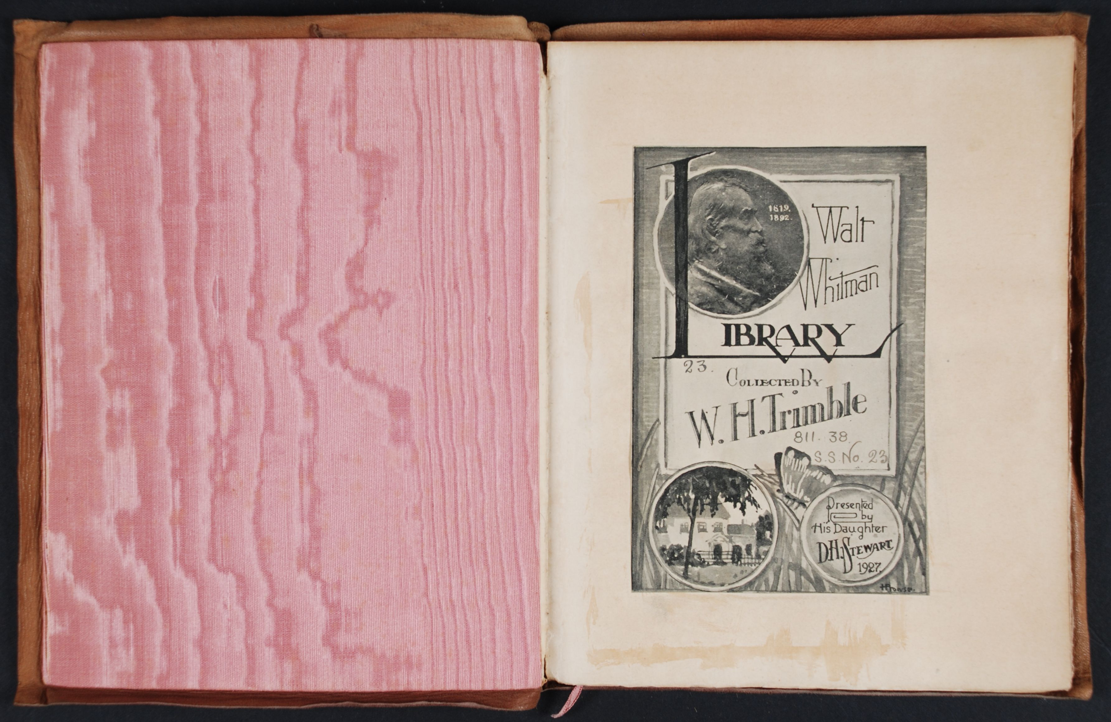 Walt Whitman. Song of Myself. New York: Roycrofters, 1904.