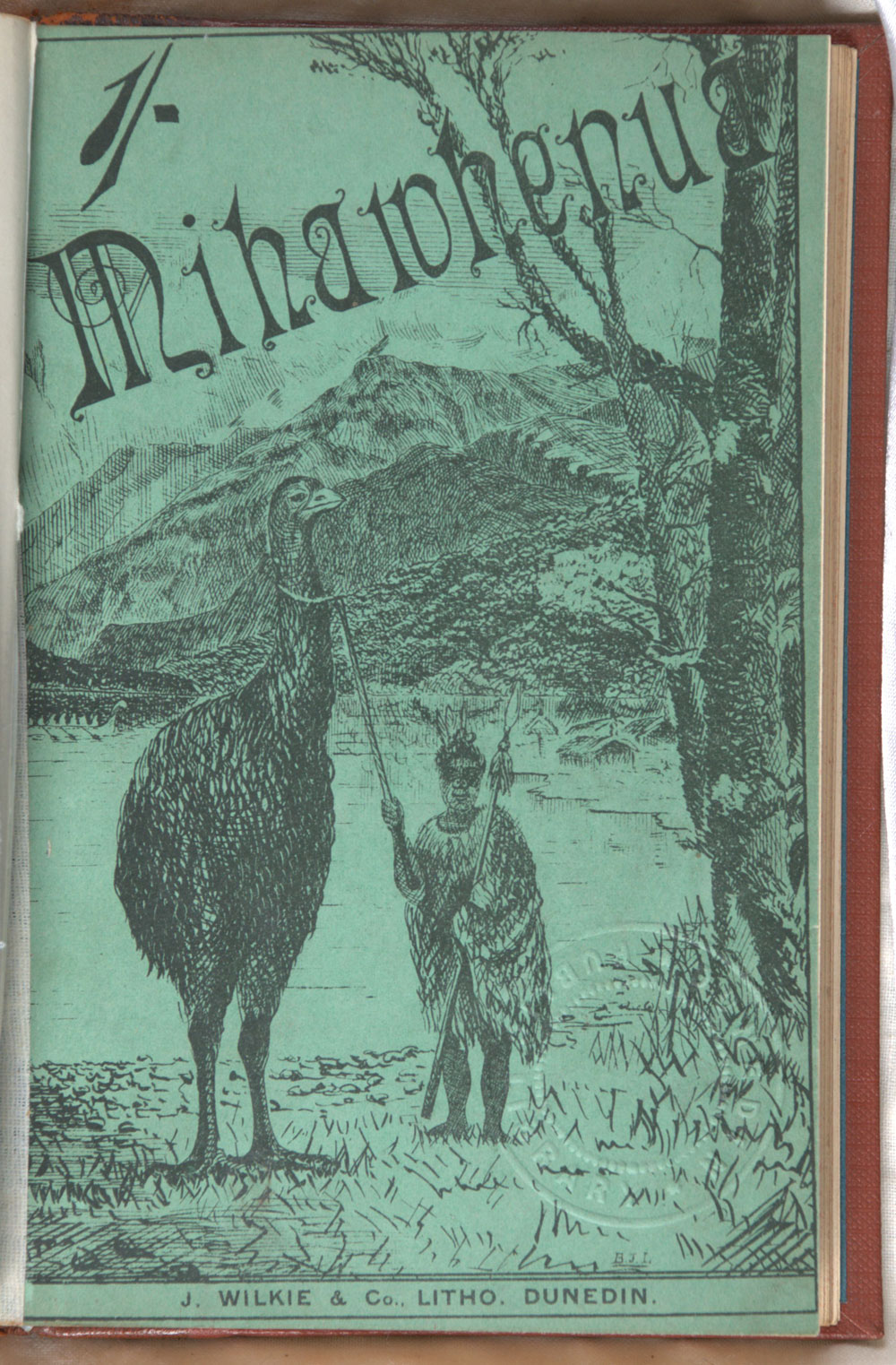 R.W. Brock. <em>Mihawhenua: the adventures of a party of tourists amongst a tribe of Maoris discovered in Western Otago, New Zealand.</em> Dunedin: J. Wilkie & Co., 1888.