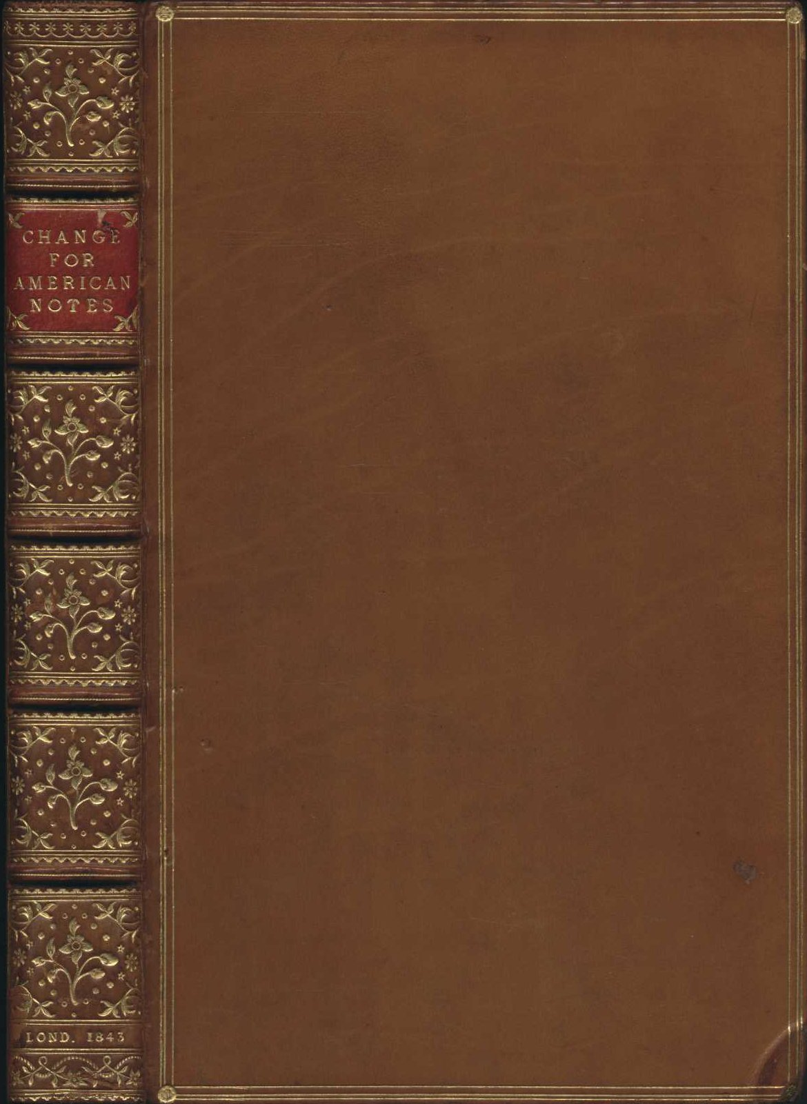 Henry Wood. Change for the American notes: in letters from London to New York. London: Wiley & Putnam, 1843.