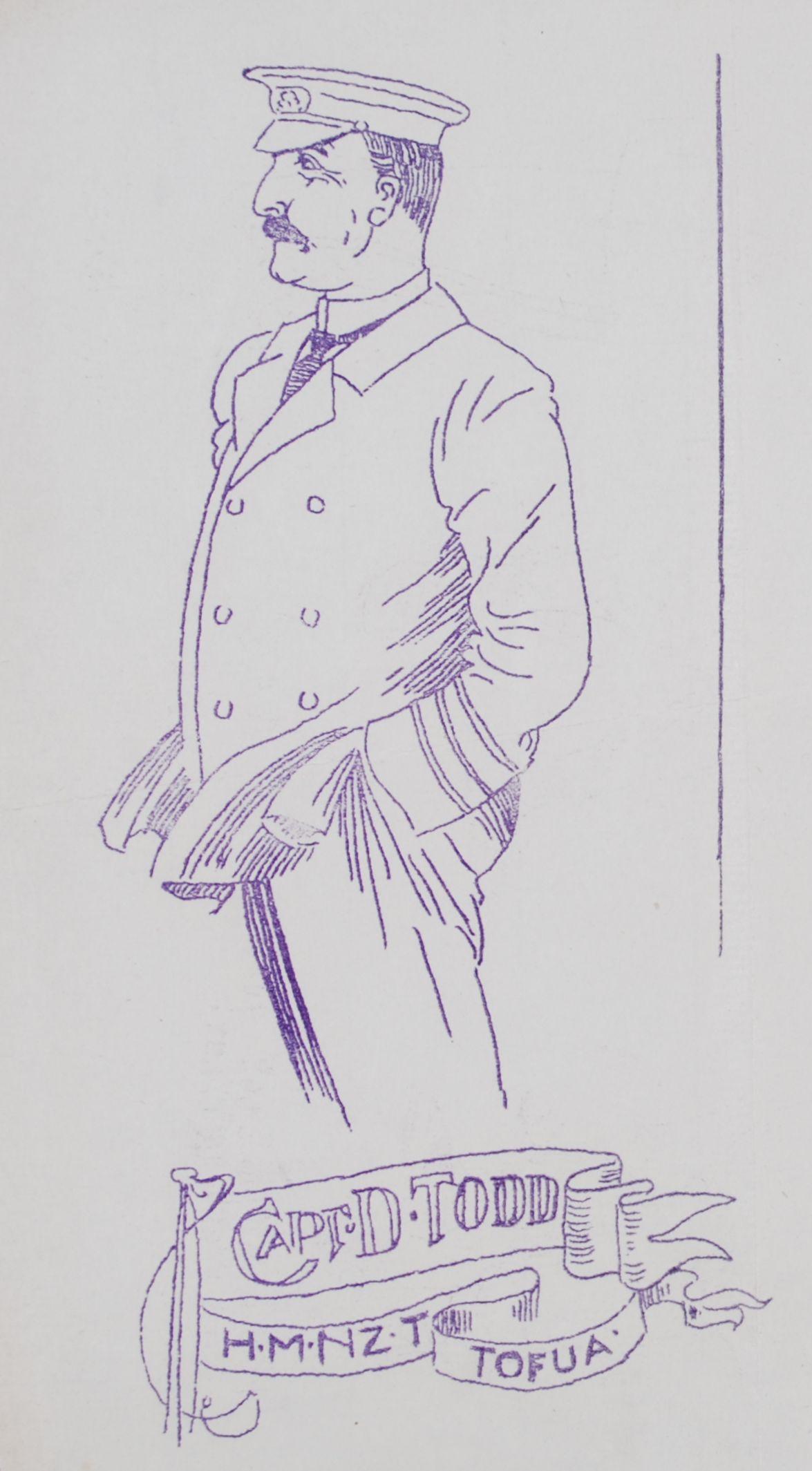 """Sherry"" (Shirreffs McIntyre). Master Drawings for Kiwi Magazine. 1917"