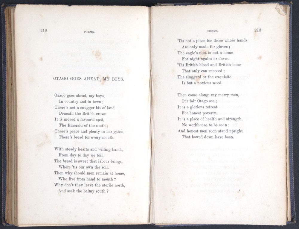 Barr, John, 1809-1889. <em>Poems and songs</em>, descriptive and satirical. Edinburgh: John Greig & Son, 1861.