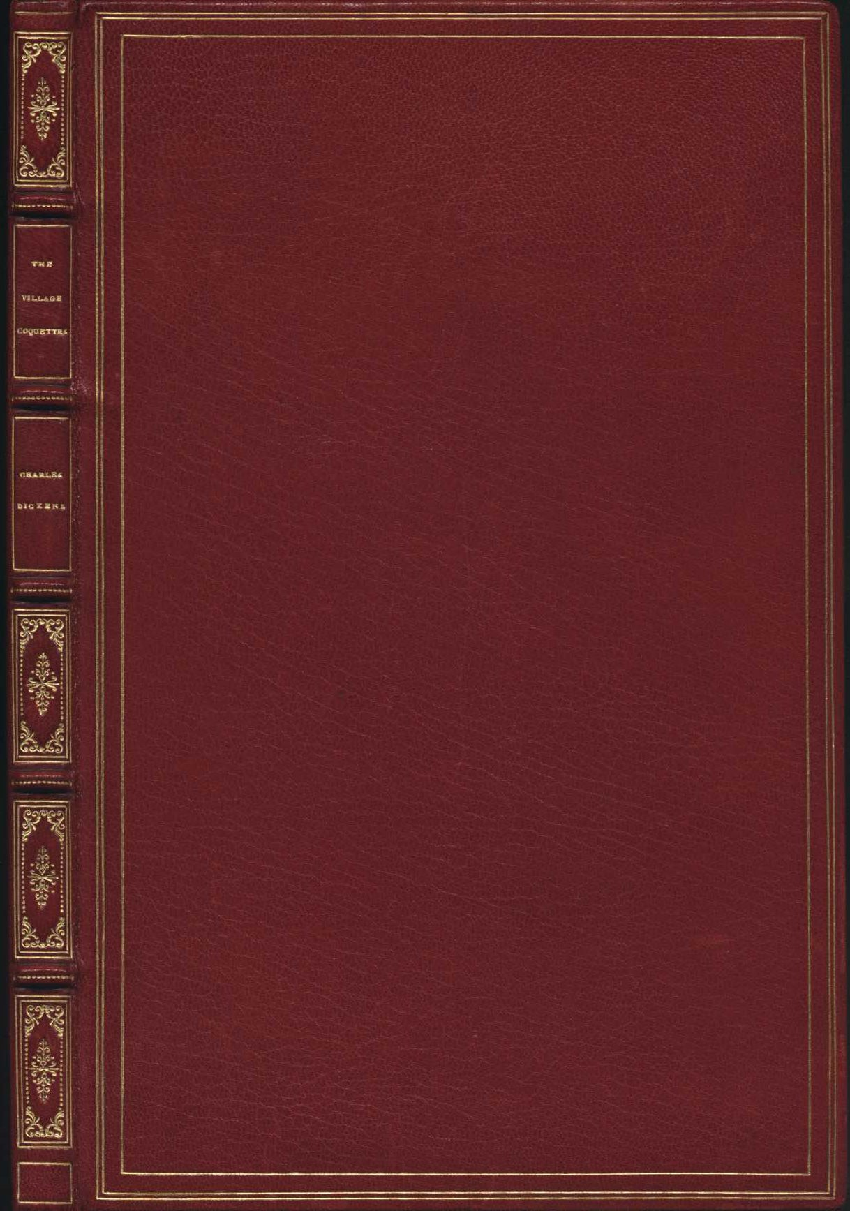 John Hullah (music); Charles Dickens (libretto). The village coquettes: a comic opera in two acts. London: Richard Bentley, 1836.
