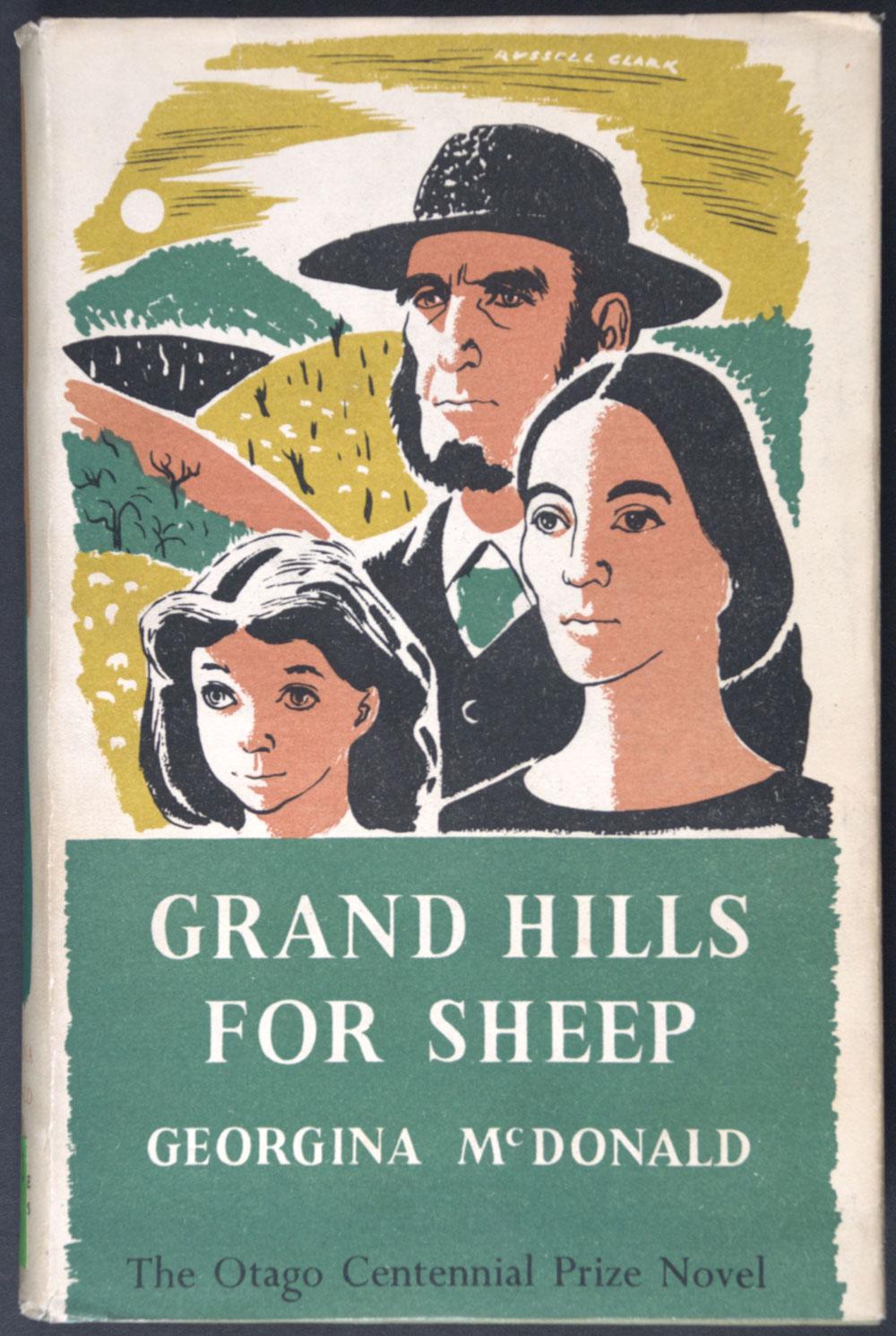 McDonald, Georgina. <em>Grand hills for sheep.</em> Christchurch: Whitcombe & Tombs, 1949.