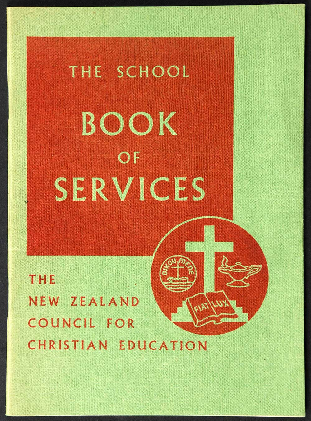 New Zealand Council for Christian Education. <em>The school book of services.</em> Revised edition. Wellington: A.H. & A.W. Reed, 1962.