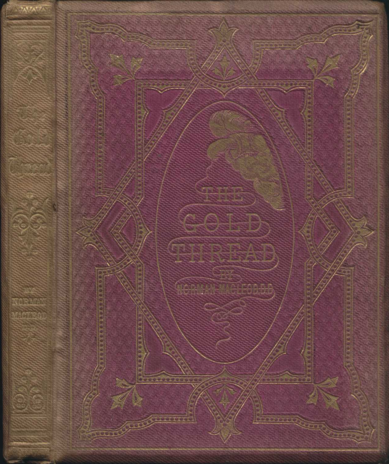 Norman Macleod. The gold thread: a story for the young. Edinburgh: A. Strahan & Co.; London: Hamilton, Adams, 1861.