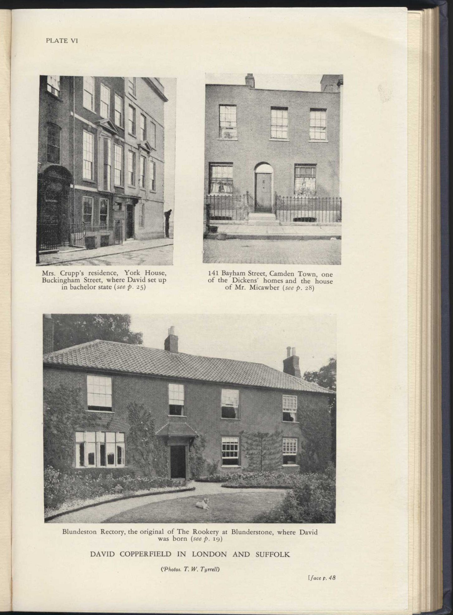 Arthur L. Hayward. The Dickens encyclopaedia. London: George Routledge and Sons, 1931. Photographs.