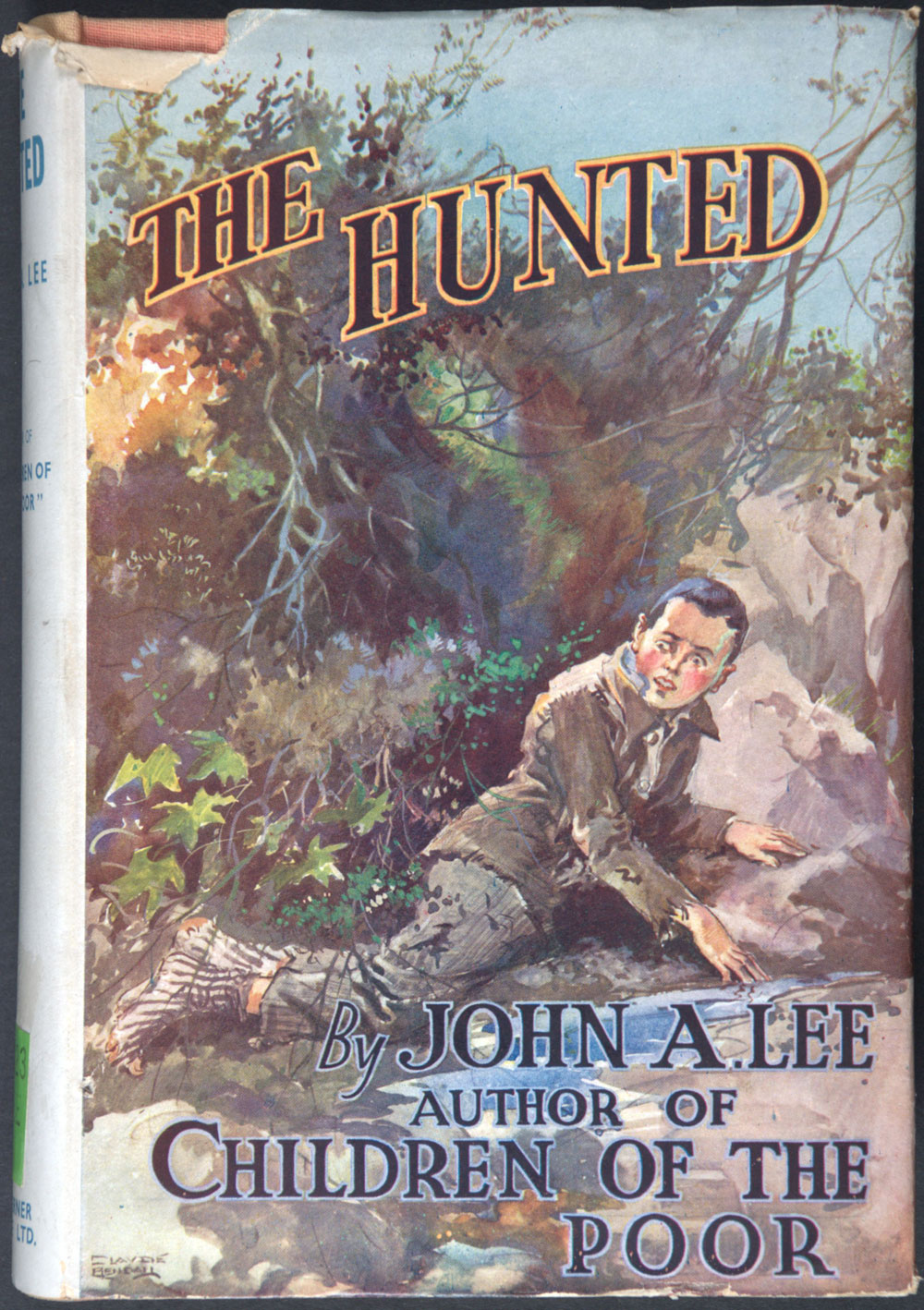 John A. Lee. <em>The hunted. London:</em> T. Werner Laurie Ltd., 1936.