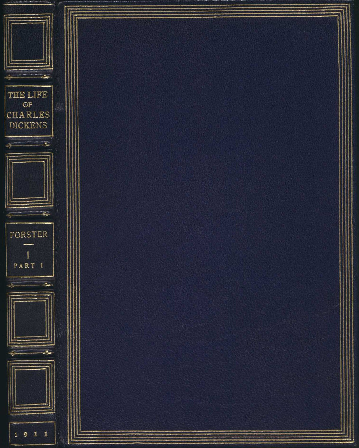 John Forster. The life of Charles Dickens. New York: Baker & Taylor, 1911.