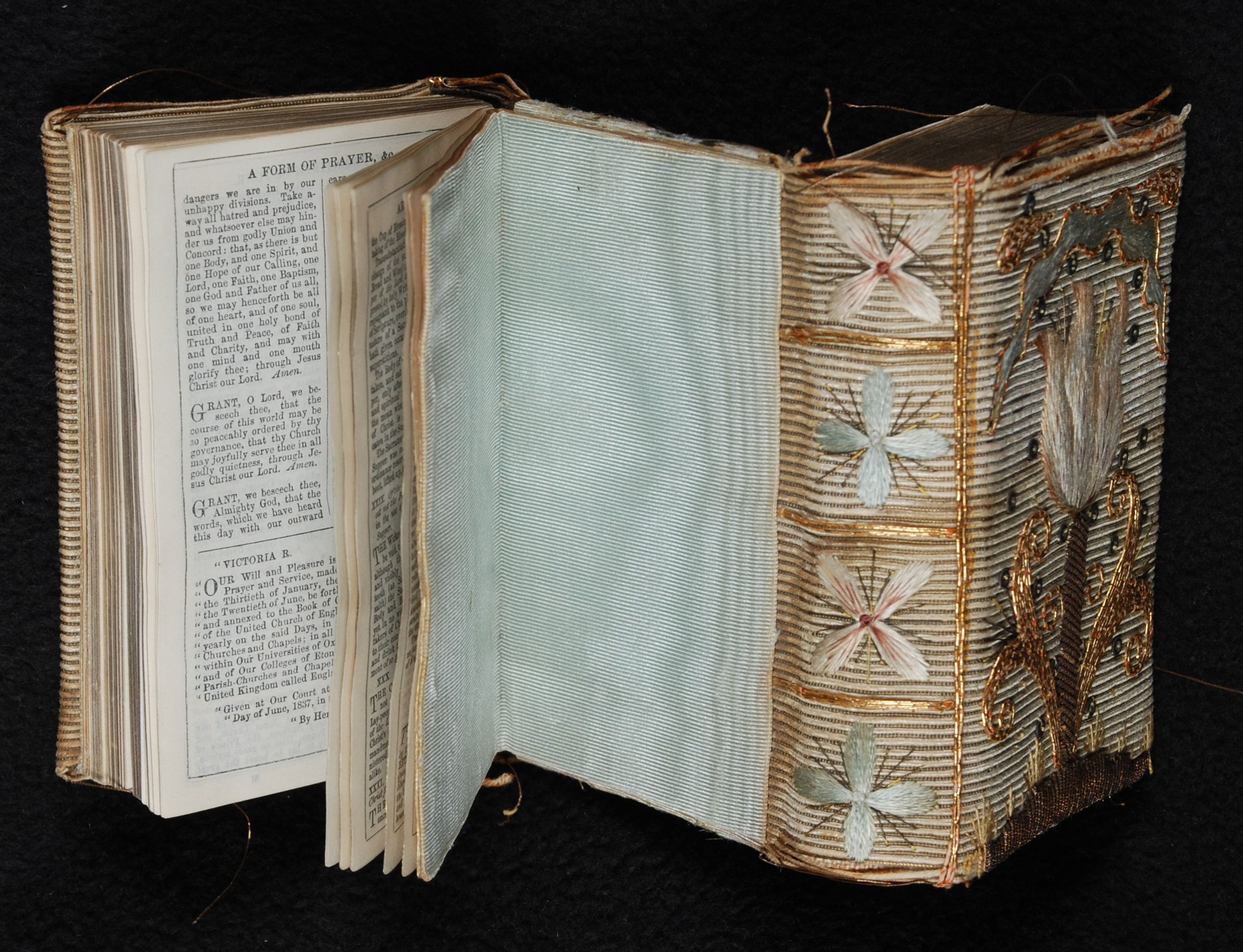 The Book of Common Prayer … together with, The Psalter or Psalms of David … Oxford: University Press, [189-?]. Bound with: Hymns ancient and modern .... London: William Clowes, [189-?]