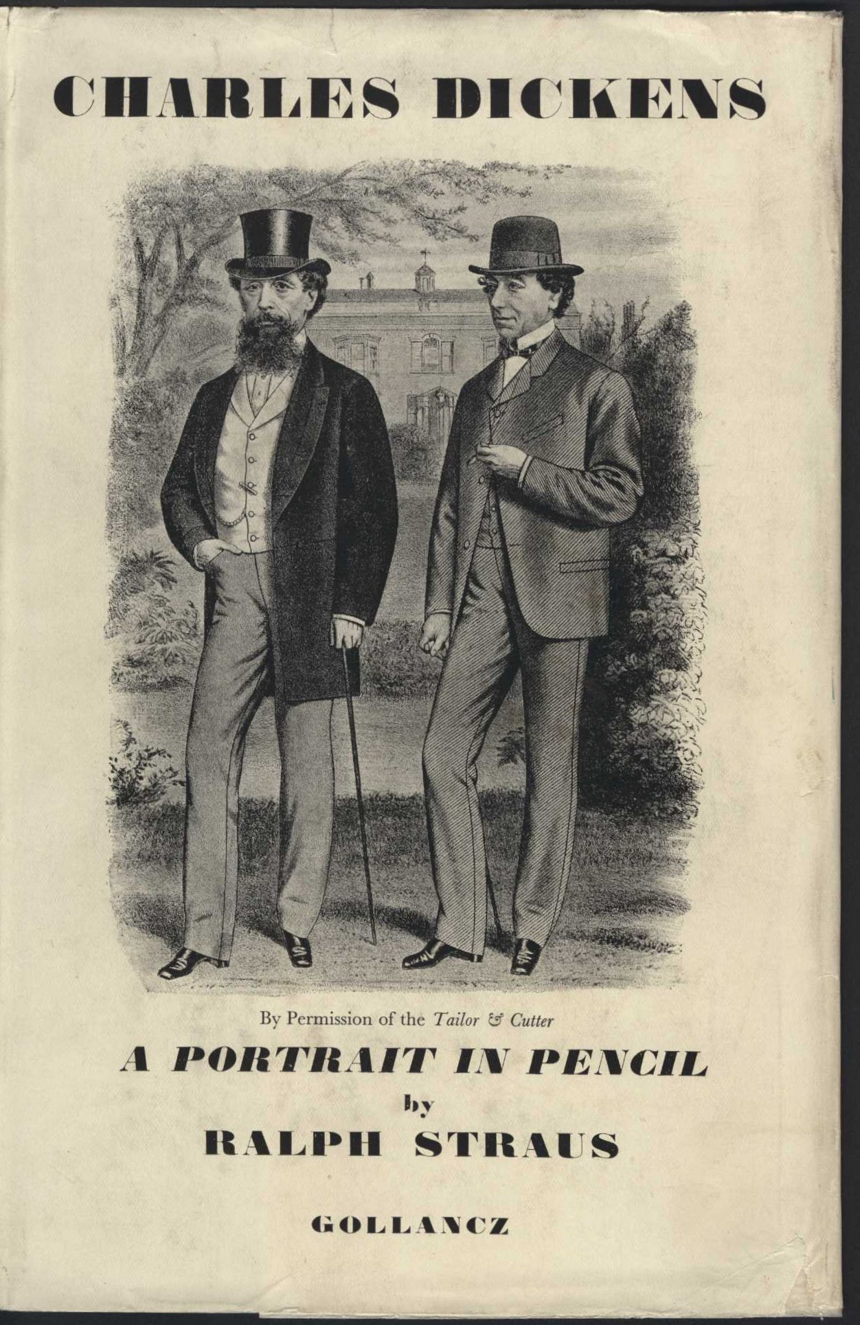 Ralph Straus. Dickens: a portrait in pencil. London: Victor Gollancz, 1928.