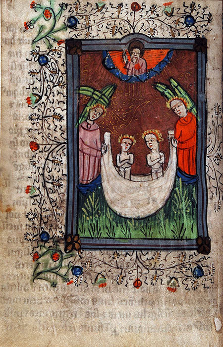 Book of Hours, in Latin with additions in Middle English. Southern Netherlands (possibly Bruges), fifteenth century. Reed MS10