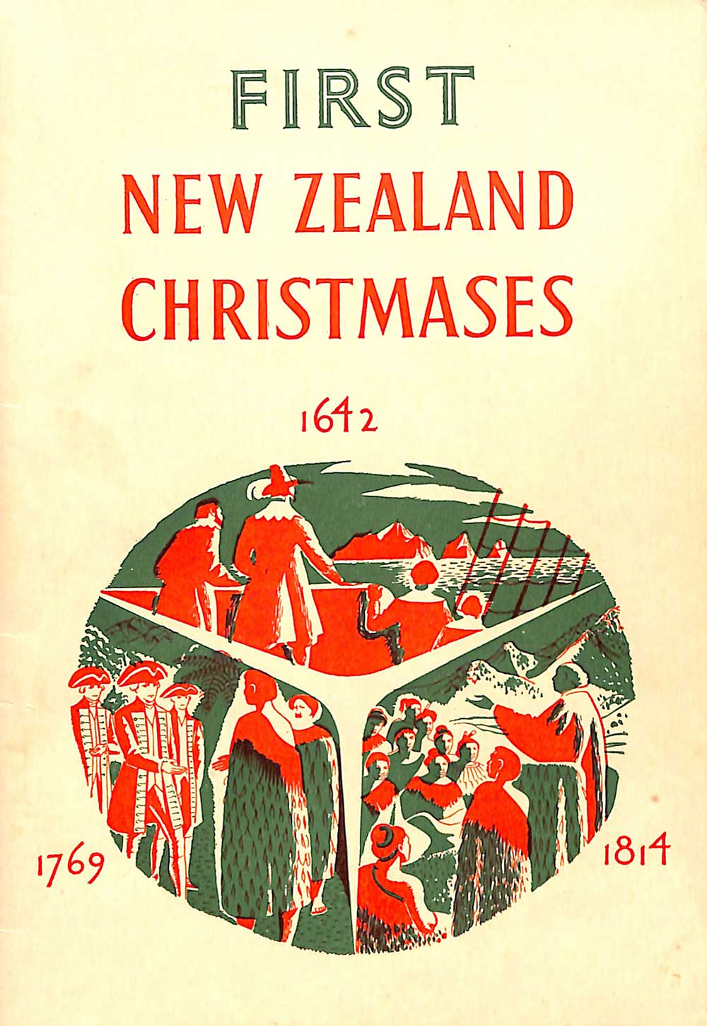A.H. & A.W. Reed. <em>First New Zealand Christmases.</em> New edition. Wellington: A.H. & A.W. Reed, 1955.