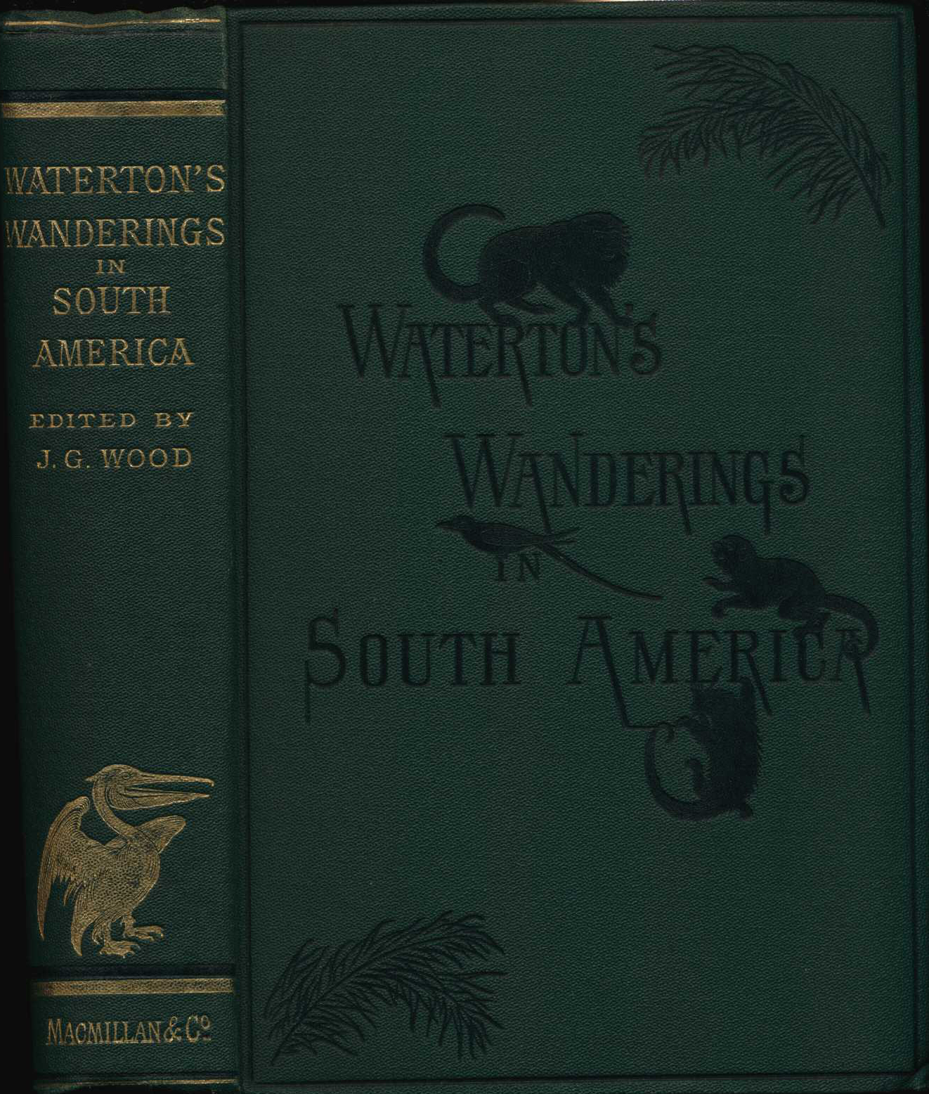Charles Waterton. Wanderings in South America, the North-west of the United States and the Antilles, in the years 1812, 1816, 1820, & 1824. New edition. London: Macmillan, 1880.