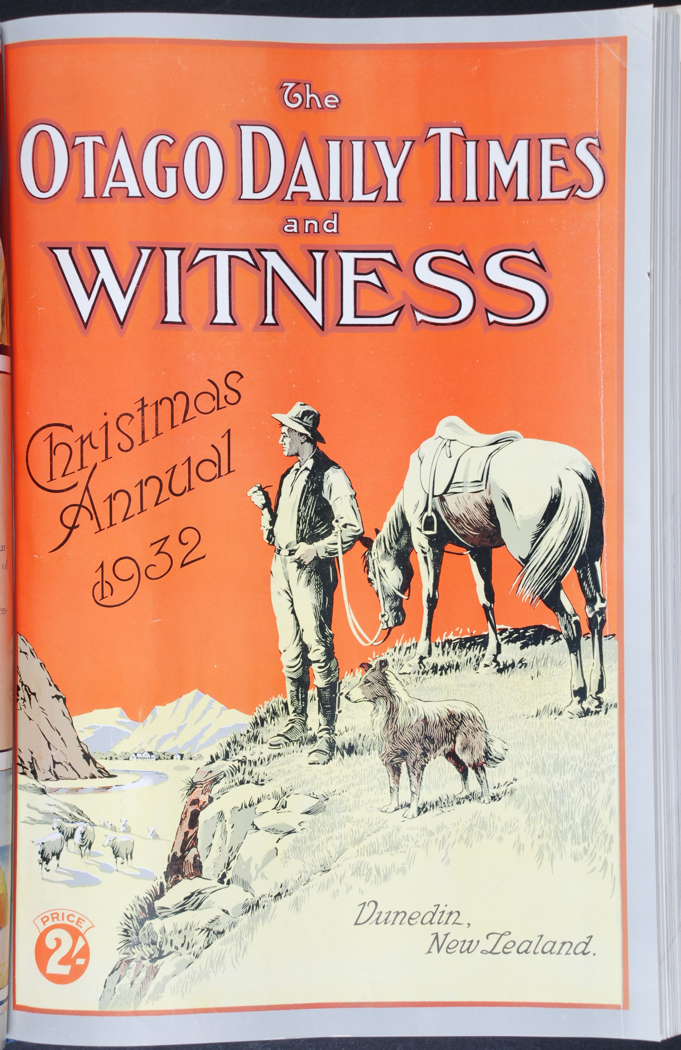 The Otago Witness. Christmas Annual, 1932.