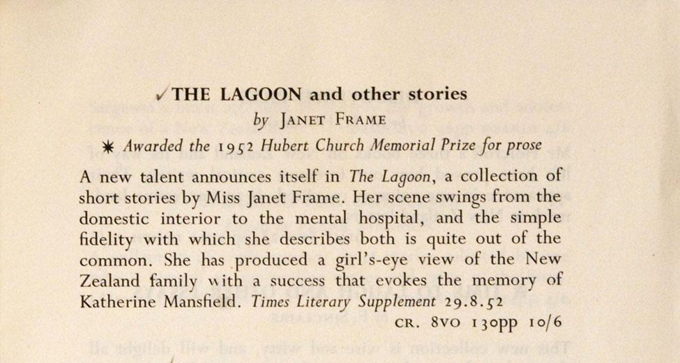 The Christmas Book List…<i> Christchurch: The Caxton Press, 1952.</i>