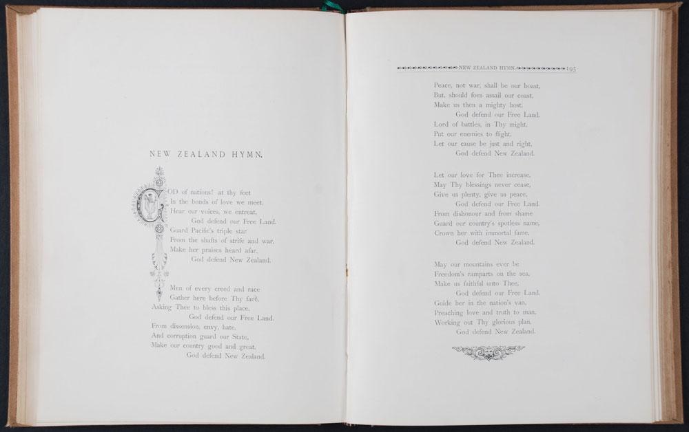 Thomas Bracken. <em>Musings in Maoriland. Dunedin</em>, N.Z.: A.T. Keirle, 1890.