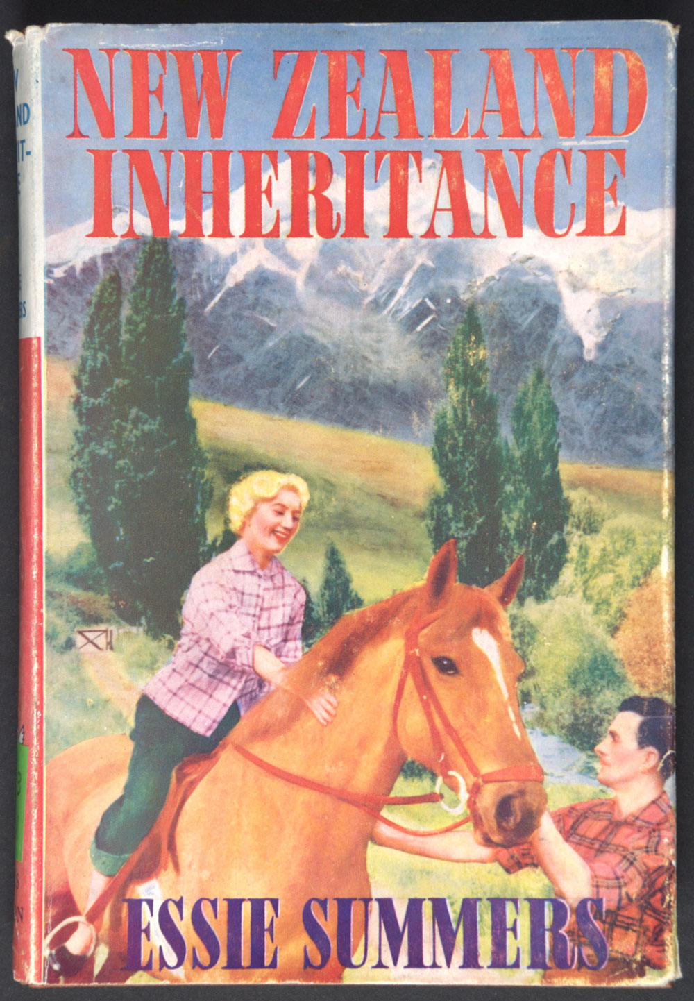 Essie Summers. <em>New Zealand inheritance</em>. London: Mills & Boon, 1957.