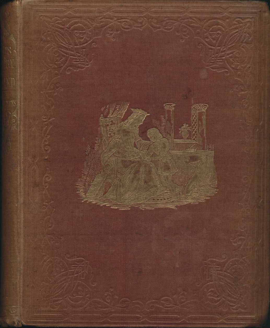Charles Dickens. A child's history of England. London: Bradbury & Evans, 1852. Three volumes, Vol. 1 displayed.