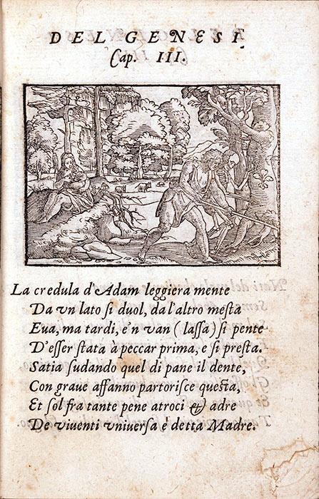 Gabriele Simeoni. Figure del Vecchio Testamento: Illustrate di bellisime stanze volgari … RBP Italian Selections 1574
