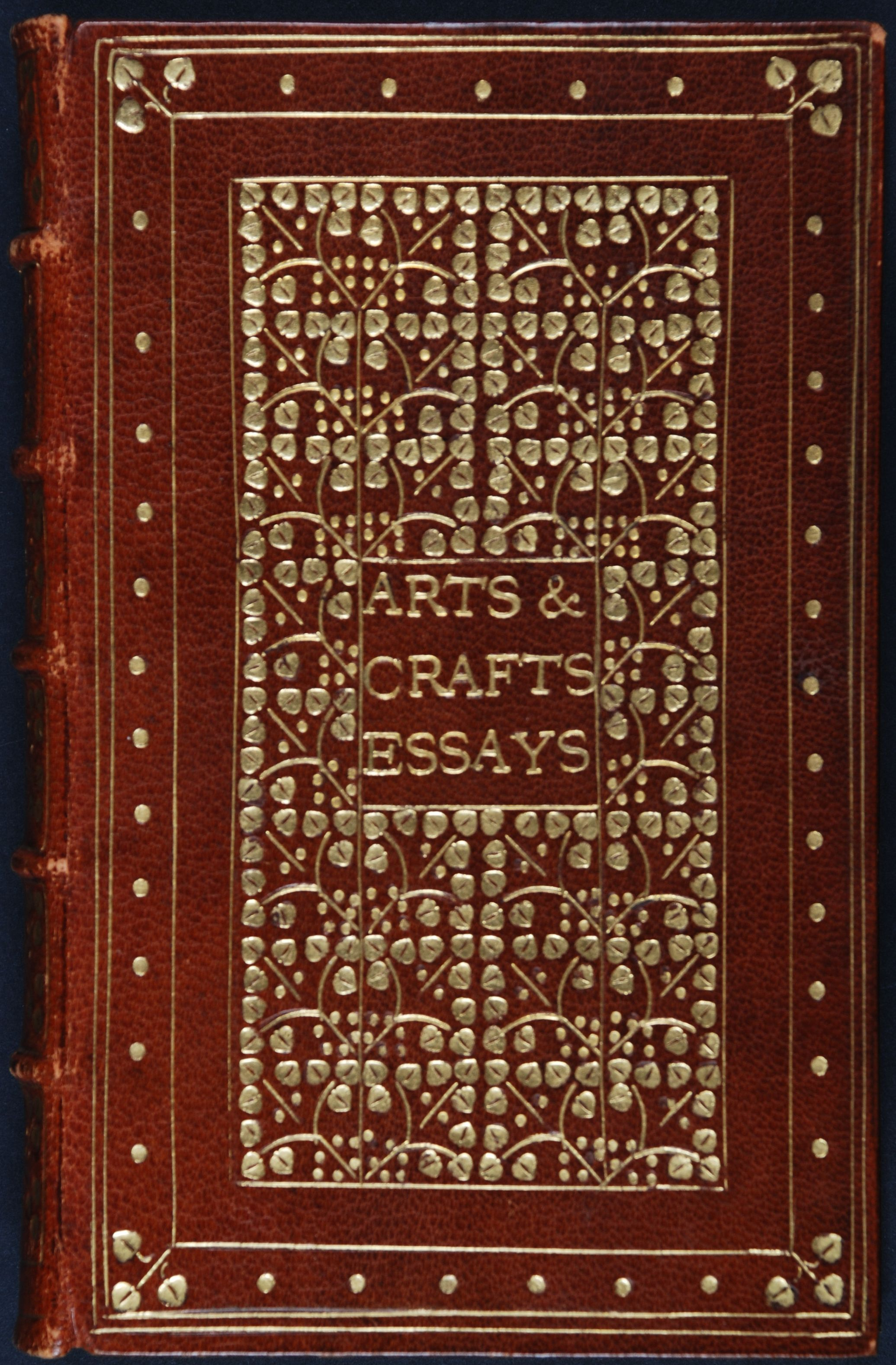 Arts and crafts essays: by members of the Arts and Crafts Exhibition Society. London: Longmans, Green, 1903.