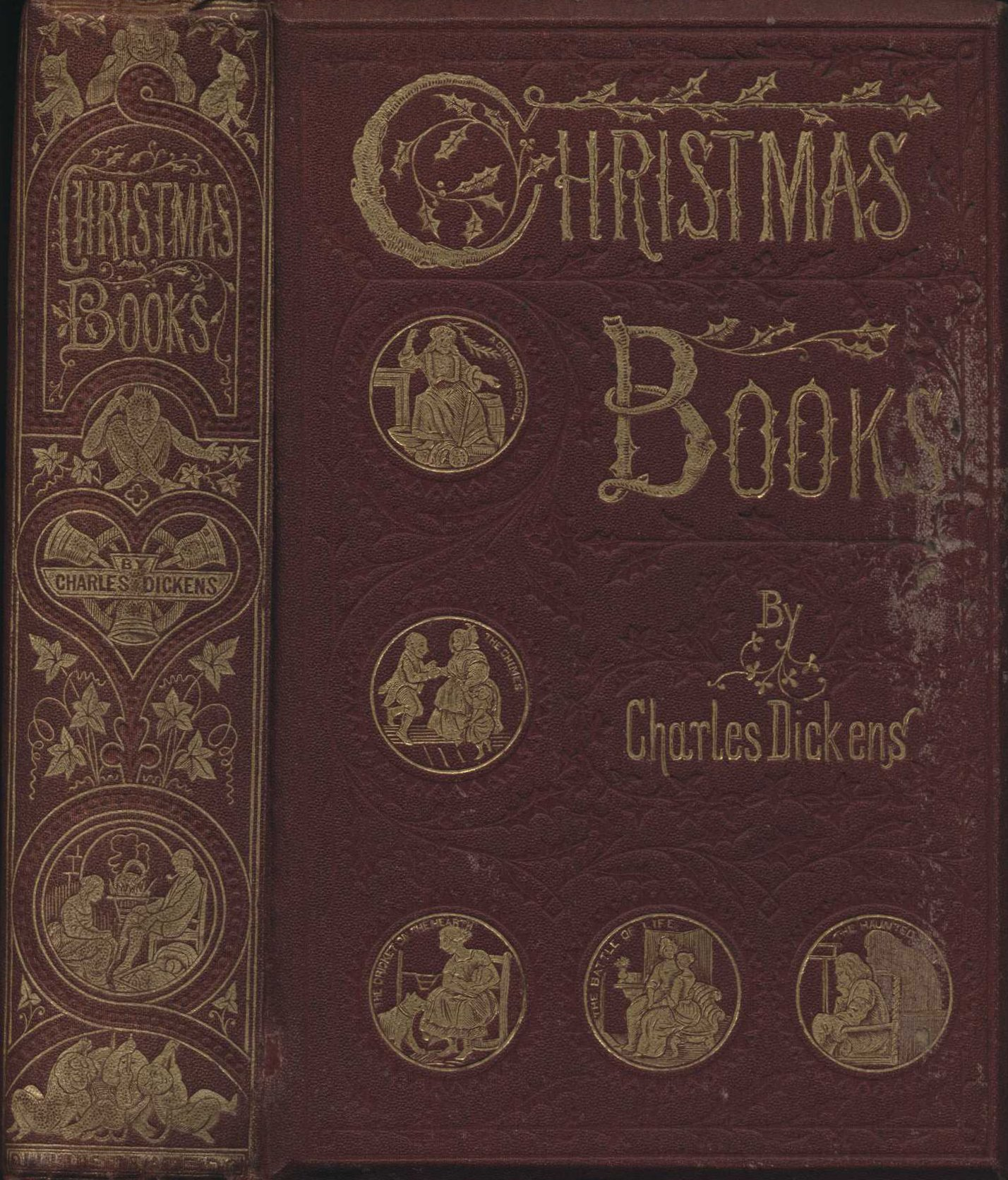 Charles Dickens. Christmas books. London: Chapman & Hall, 1869.